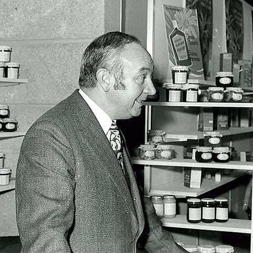 René Walther, fondateur Andrésy Confitures