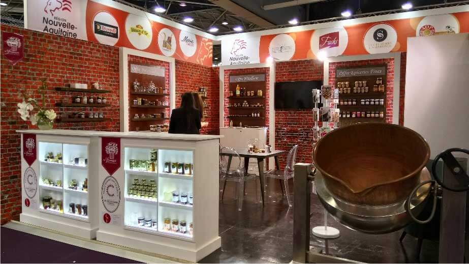 Stand Andrésy Confitures - Sirha