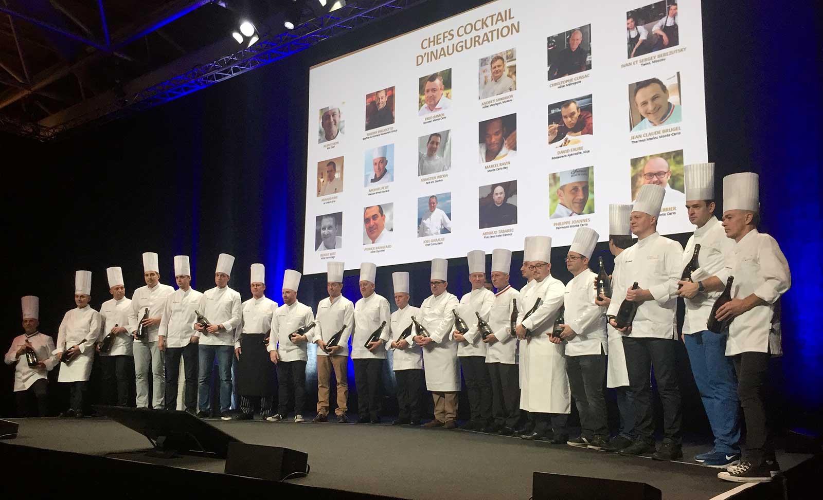 Salon Chefs World Summit 2017 à Monaco