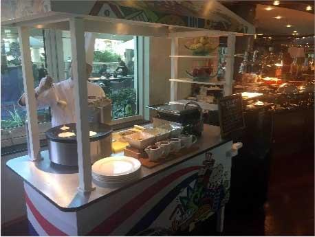 Breakfast Buffet, Roda Al-Murooj Hotel, Dubai
