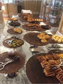 Breakfast Buffet, Saint-Regis, Dubai