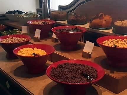Hyatt Casablanca, buffet petit-déjeuner