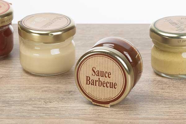 Petit pot de sauce barbecue Gamme A l'Ancienne - Andrésy Confitures