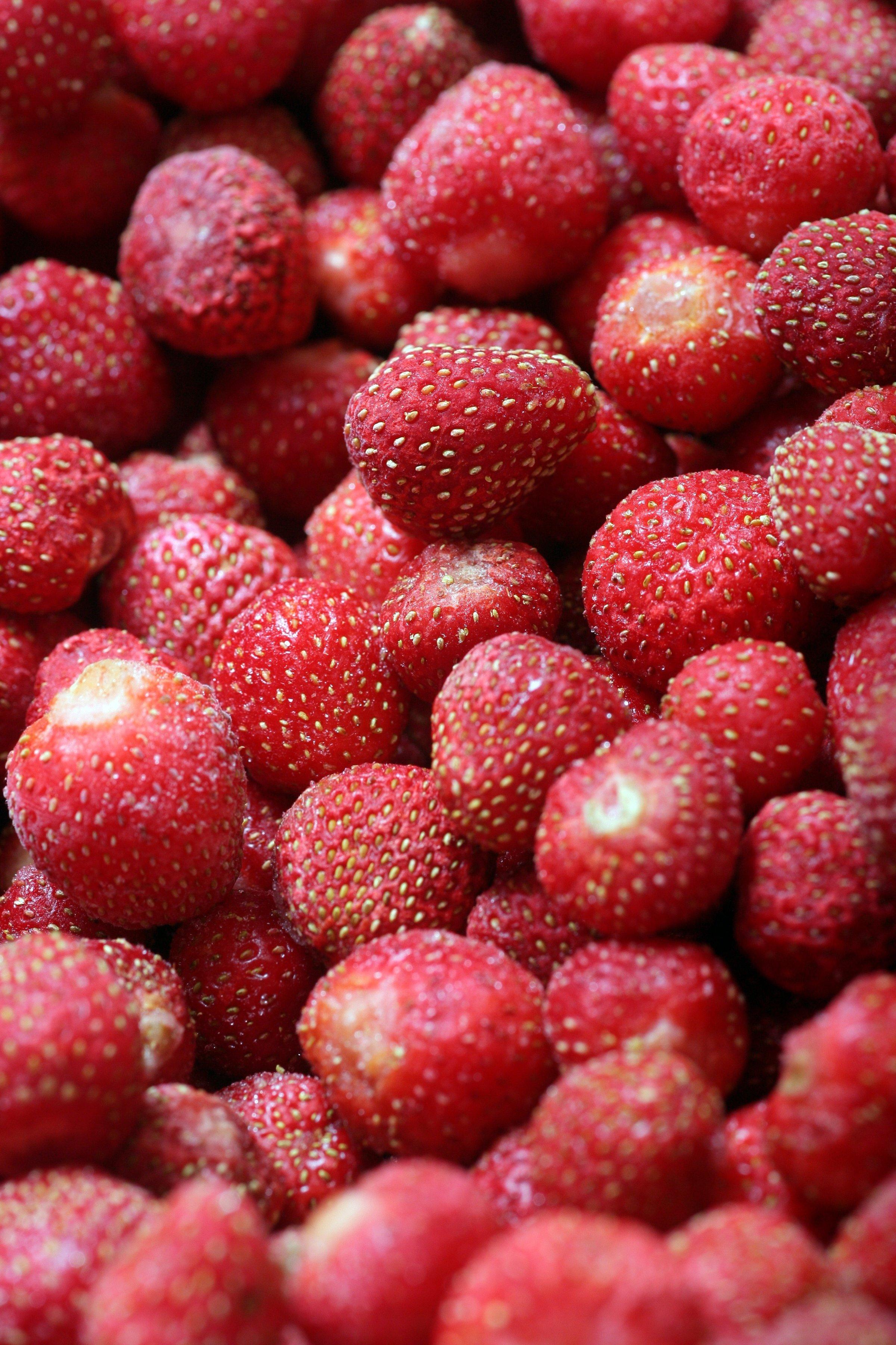 Fraises fruits andrésy confitures