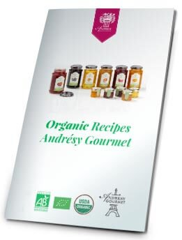 Organic Recipes Andrésy Gourmet - Brochure