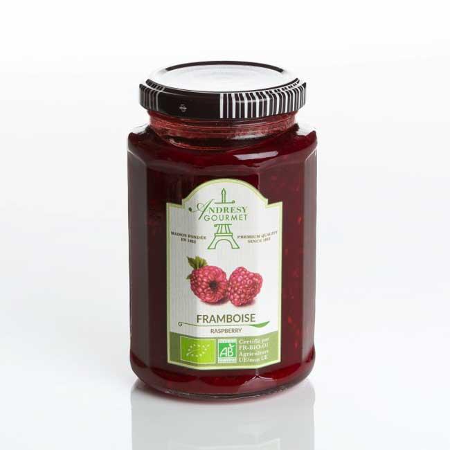 Raspberry organic jam