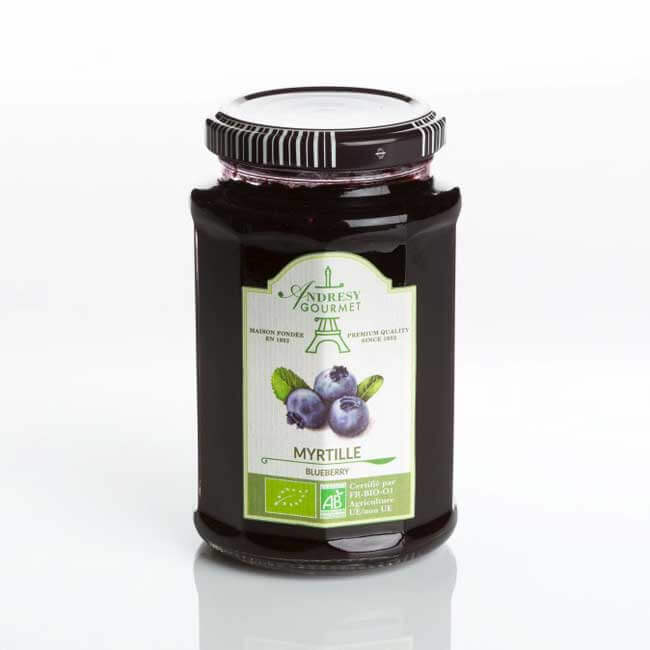 Blueberry 60% of fruits