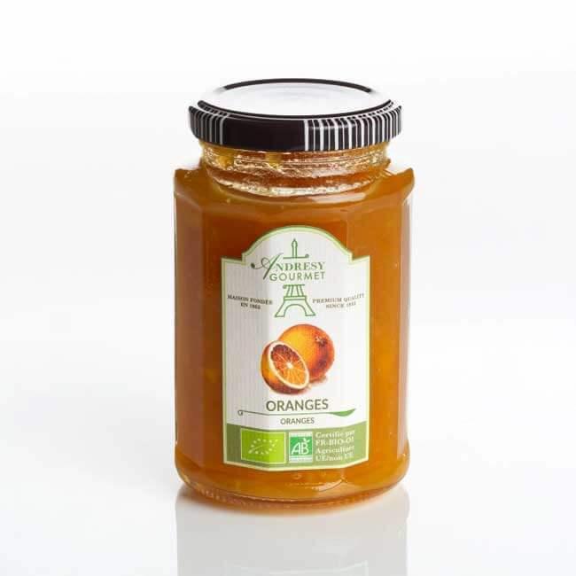 Oranges organic jam