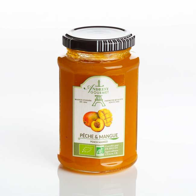 Peach and Mangoe organic jam