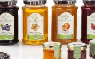 Make a difference with Andrésy's ORGANIC jams!