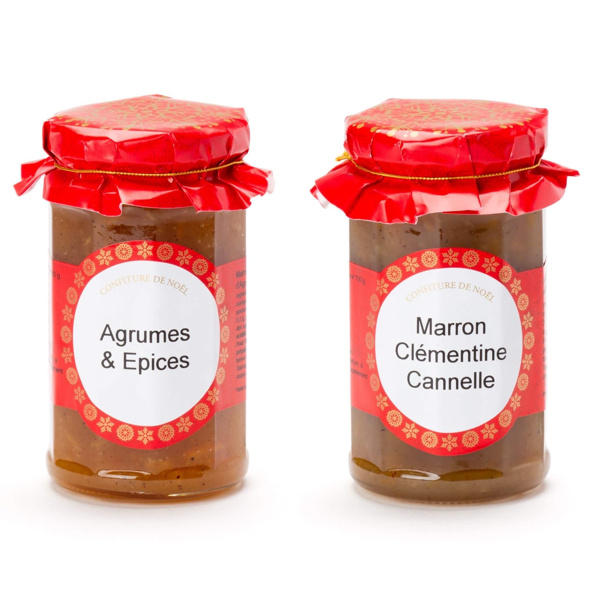 Christmas marmalade and jam by Andresy Confitures