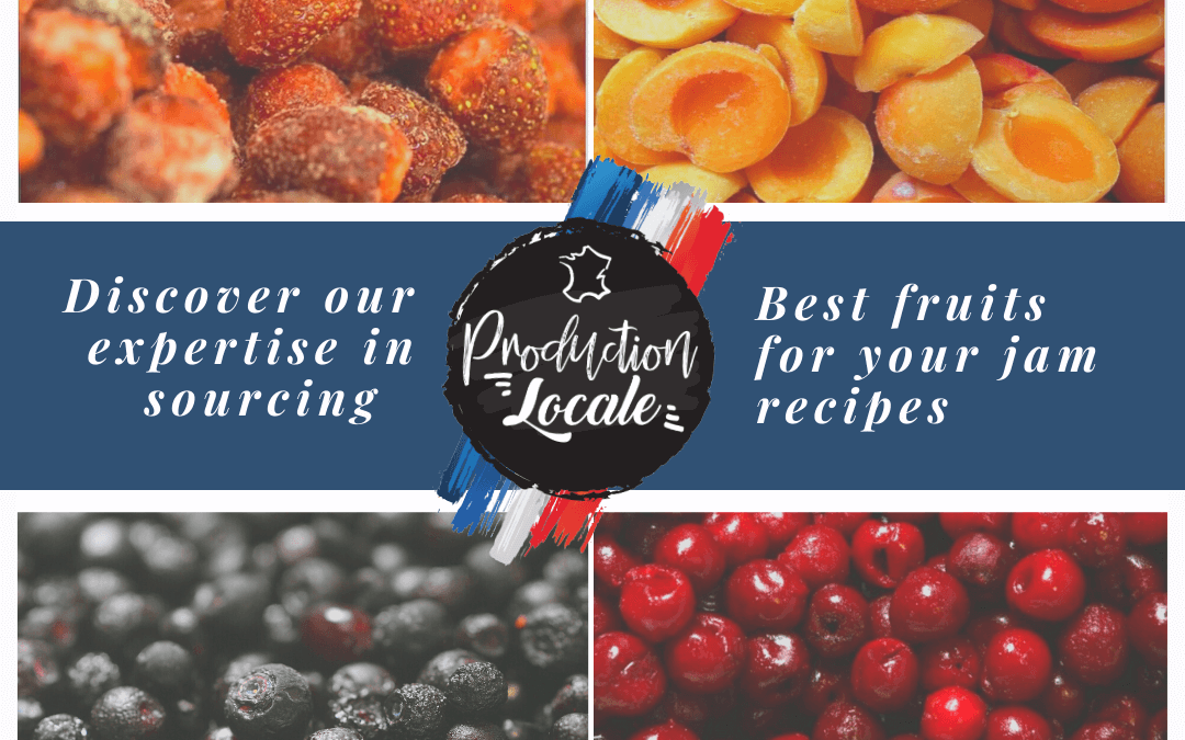 How does your artisanal jam maker create your recipes and source your fruits ?