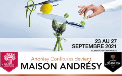 From 23 till 27 September, discover our surprises and meet the Andrésy Confitures sales team at the SIRHA of Lyon on its stand : G2A18 !