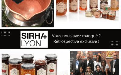 You could not come to the SIRHA of Lyon in September 2021 ? Here is expressly for you, the retrospective of Andrésy Confitures as if you were on its stand of French high-end jams