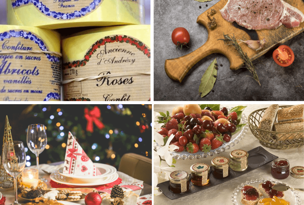 Christmas Confit: attractive recipes for your customers, to create or choose among our recipe booklet!